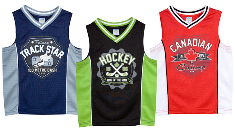 Baby Boy Athletic Tank Tops